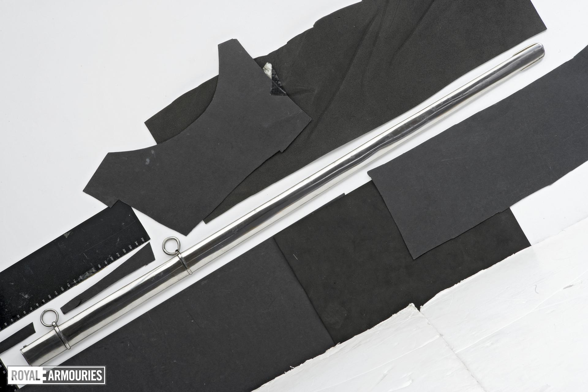 Sword and scabbard