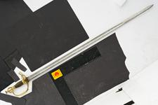 Thumbnail image of Sword and scabbard Officer's dress sword and scabbard
