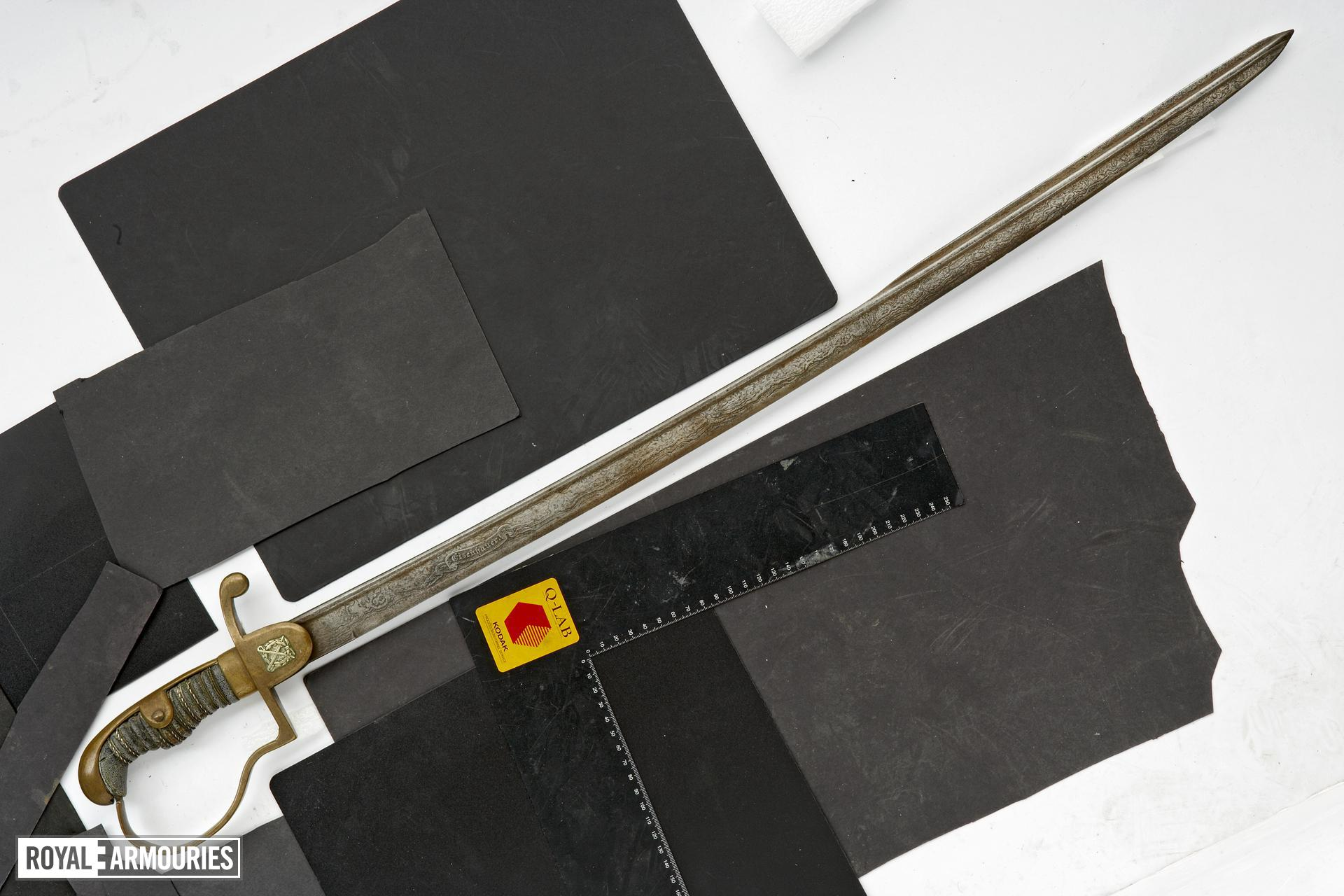 Sword Officer's sword. Eisenhower.