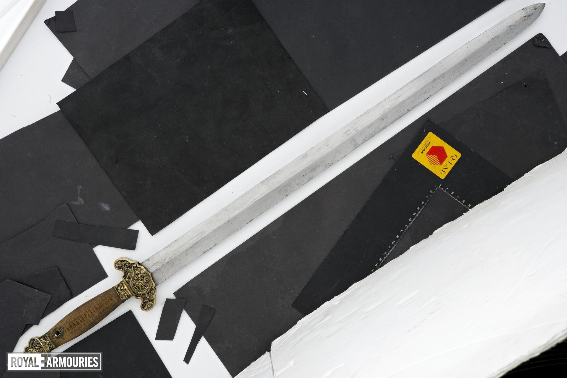 Sword (jian) and scabbard