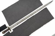 Thumbnail image of Sword Sword - inscibed Me Fecit Biscotto. 'Landesknecht' type.