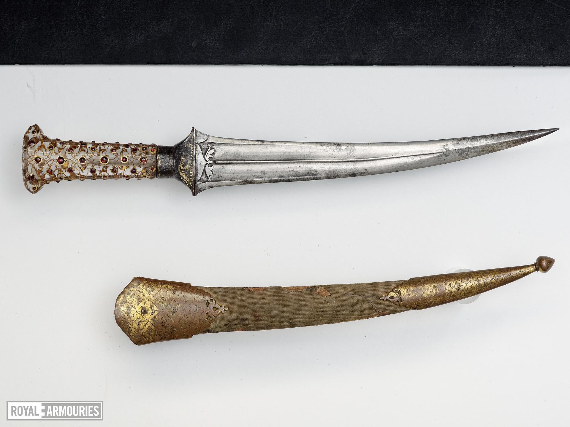 Dagger (khanjar) and scabbard