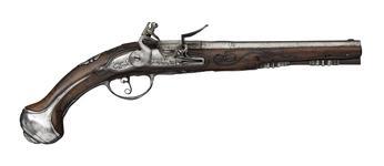 Thumbnail image of Flintlock holster pistol By Guillaume Henoul