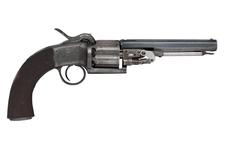Thumbnail image of Percussion six-shot revolver Retailed by James Beattie, 205 Regent St Of Lang type