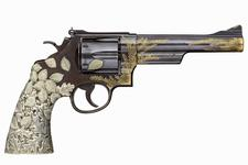 Thumbnail image of Centrefire six-shot revolver - The Tiffany Revolver Based on a Smith & Wesson Model 29