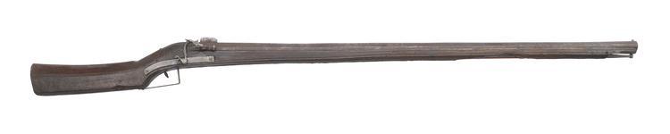 Thumbnail image of Matchlock muzzle-loading musket Made in Gardone, Brescia