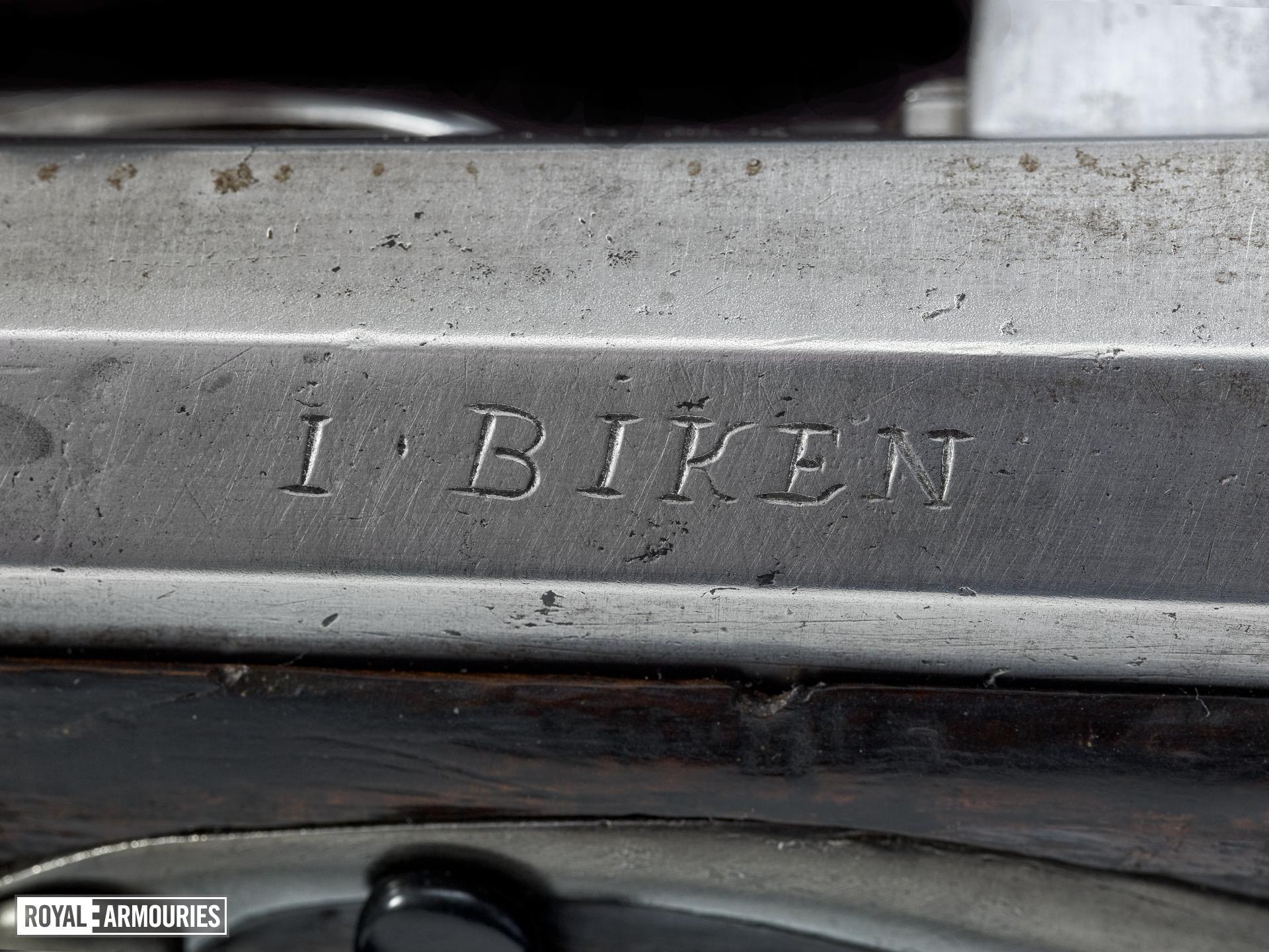 Matchlock muzzle-loading musket - By Biken