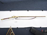 Thumbnail image of Matchlock musket (toradar) Covered in gold koftgari.