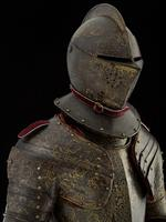 Thumbnail image of Three-quarter field armour of Henry Wriothesley, 3rd Earl of Southampton