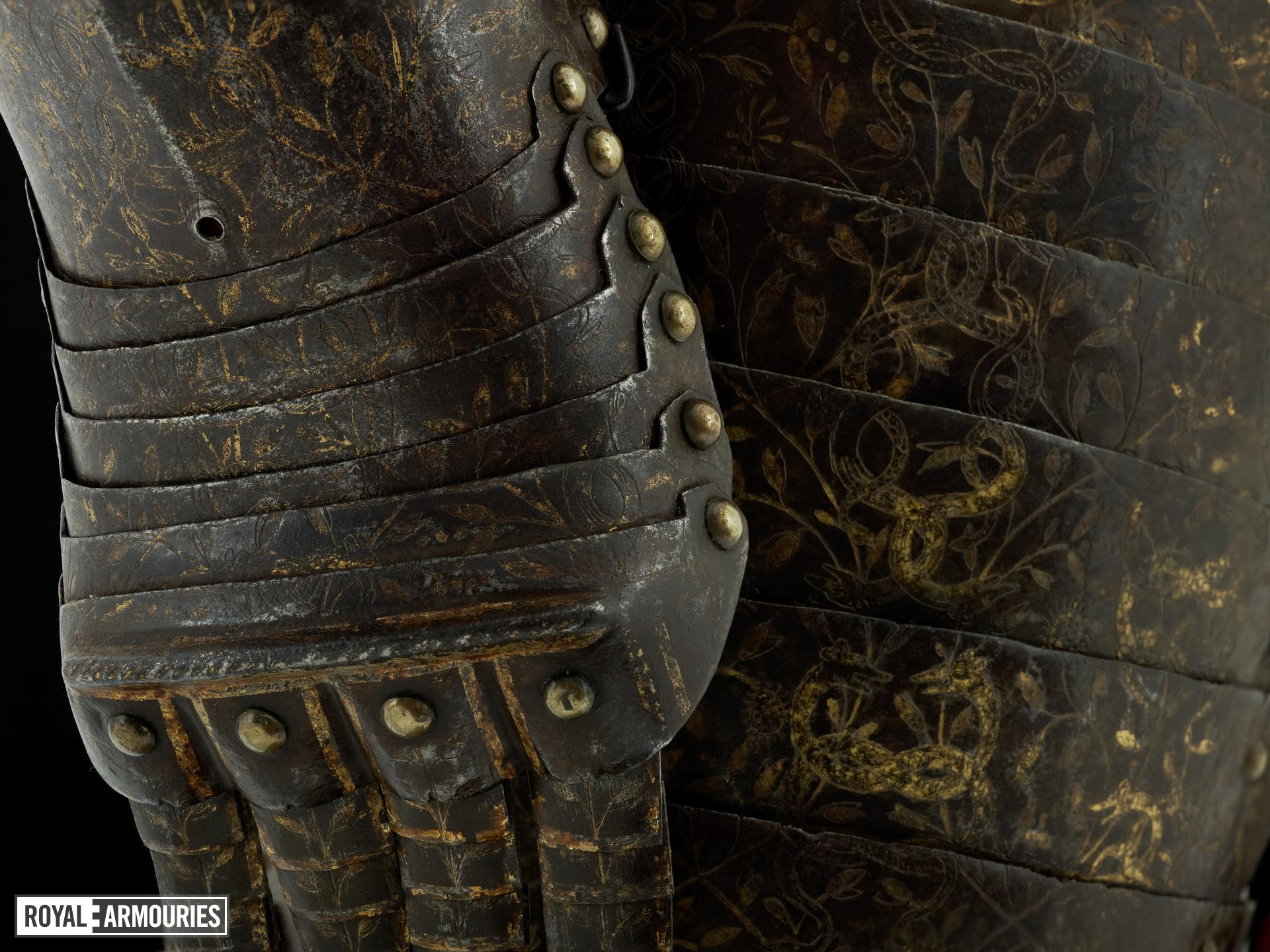 Three-quarter field armour (1600) - Royal Armouries collections