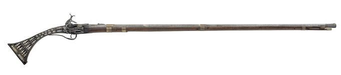 Thumbnail image of Miquelet lock musket (rasak)