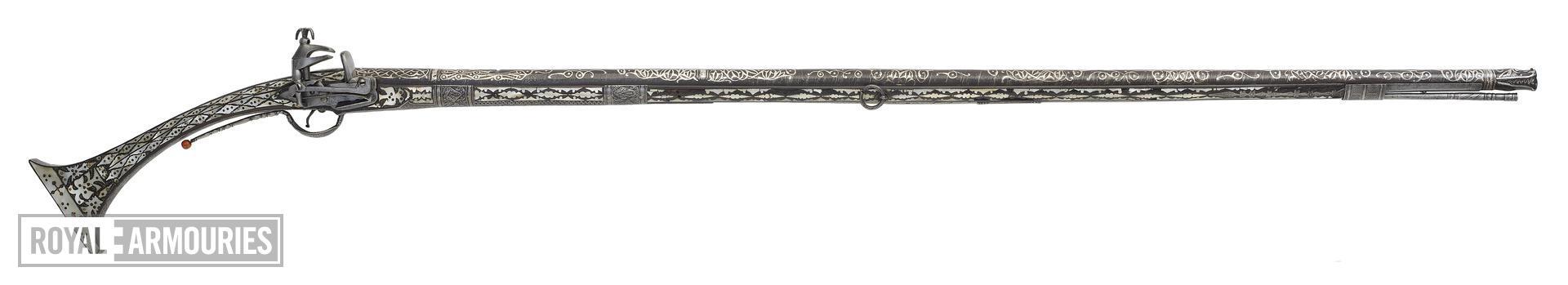 Flintlock musket (arnautka)