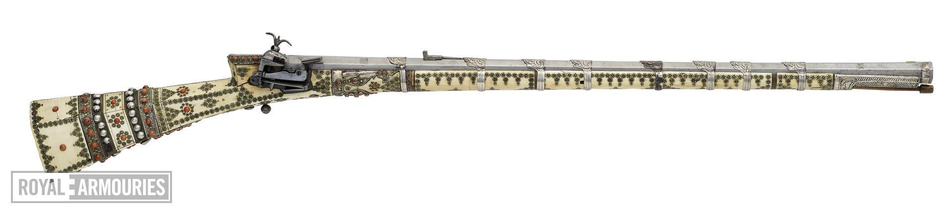Miquelet lock rifle (cakmakli tufek)