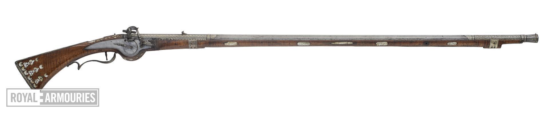 Wheellock musket By Rajab