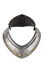 Thumbnail image of Two gorget plates Two gorget plates from an armour for King Henry VIII