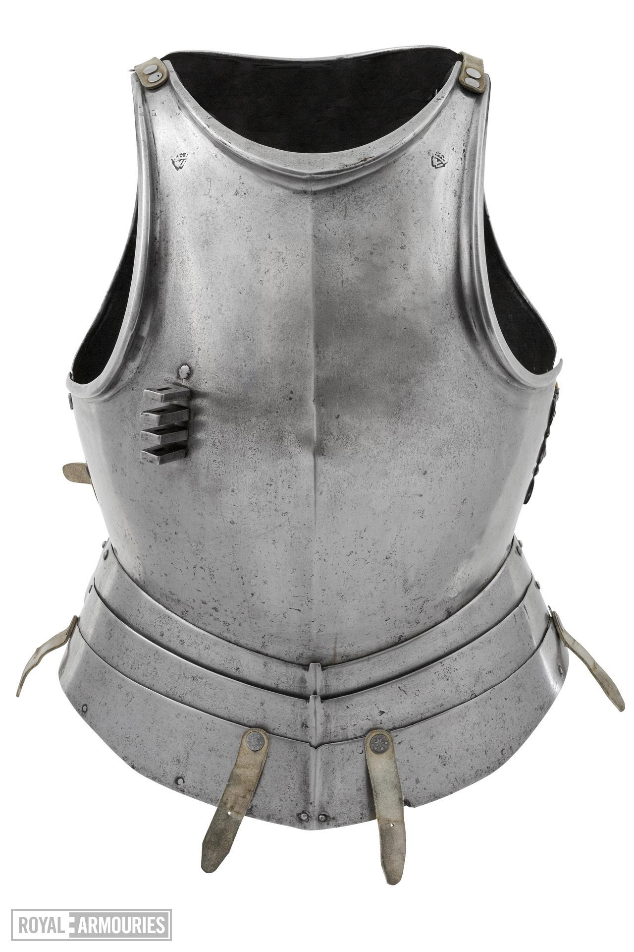Breastplate Possibly of Henry VIII, possibly made by Flemish armourers in Greenwich?
