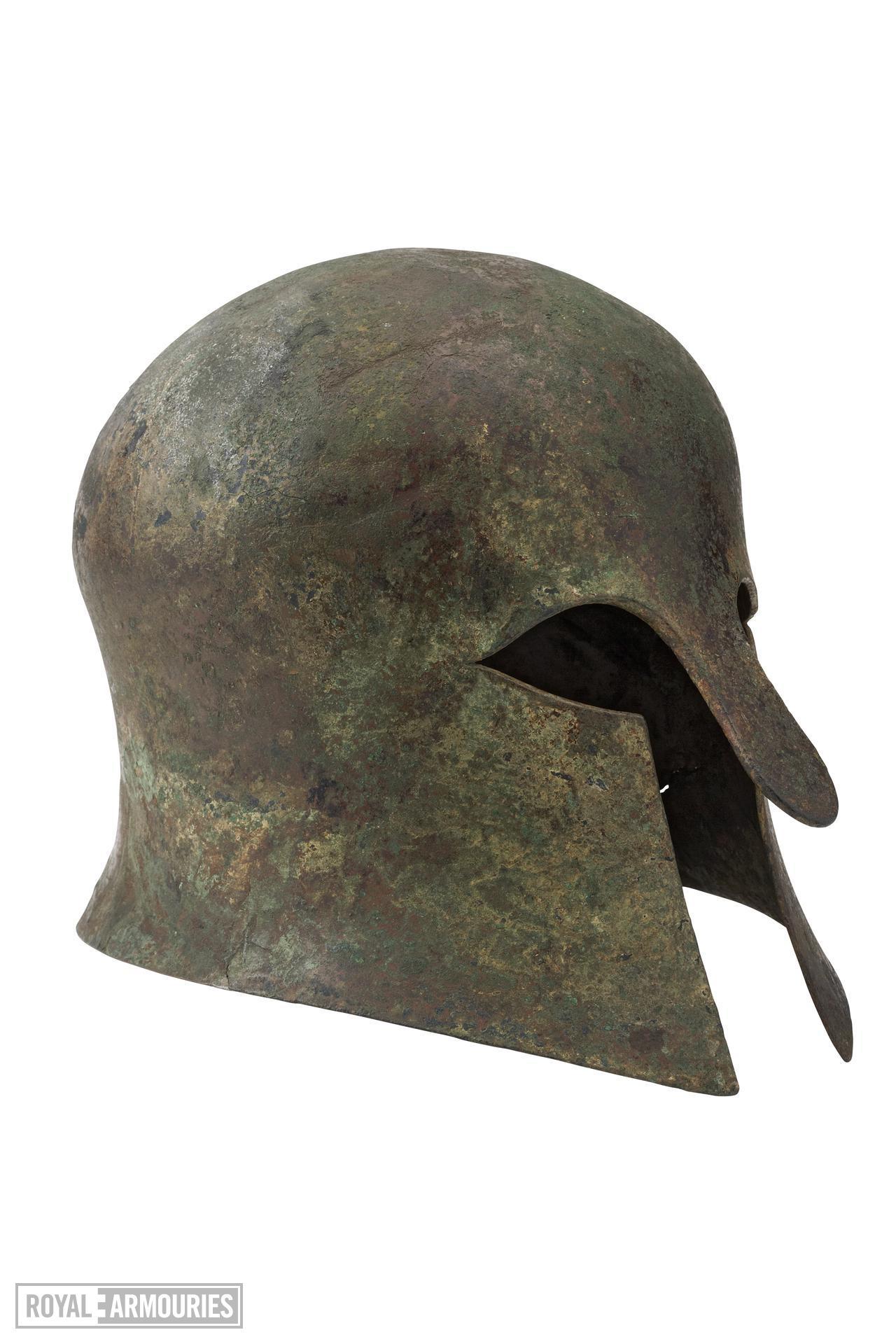 Helmet Corinthian helmet