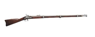 Thumbnail image of Percussion muzzle-loading rifle musket - Springfield Model 1855 With bayonet