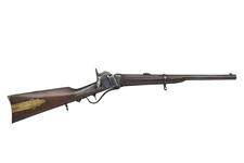 Thumbnail image of Percussion breech-loading carbine - Sharps Carbine By Sharps Rifle Manufacturing Company of Hartford