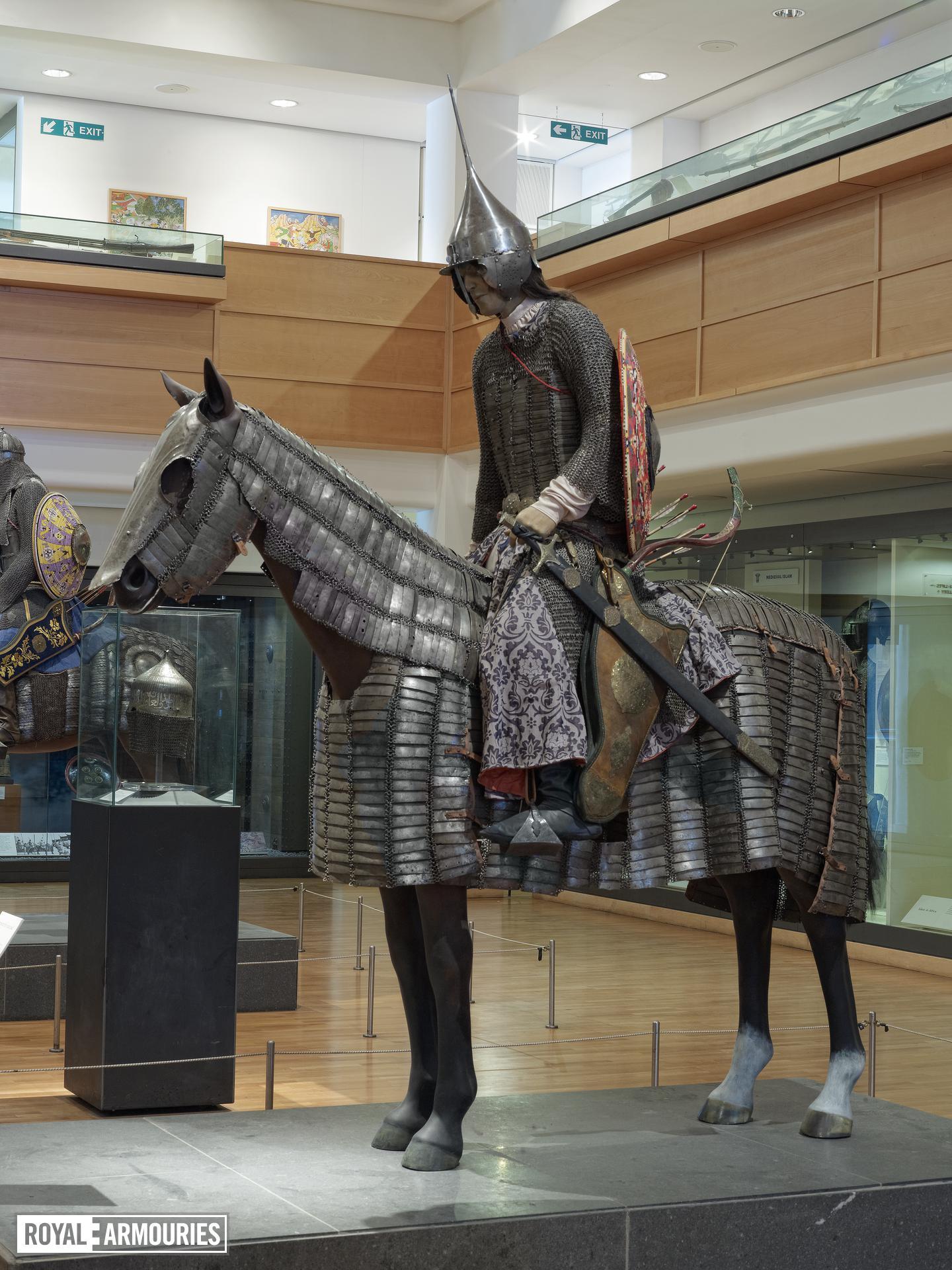 Helmet (kolah khud) Converted to Turkish style