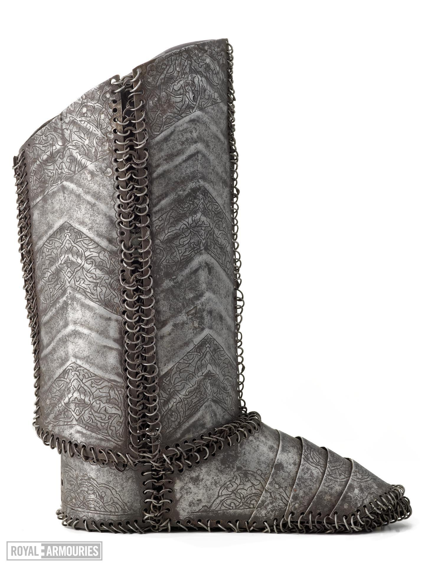 Armoured boot Armoured boot