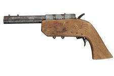 Thumbnail image of Centrefire single shot improvised pistol - Improvised
