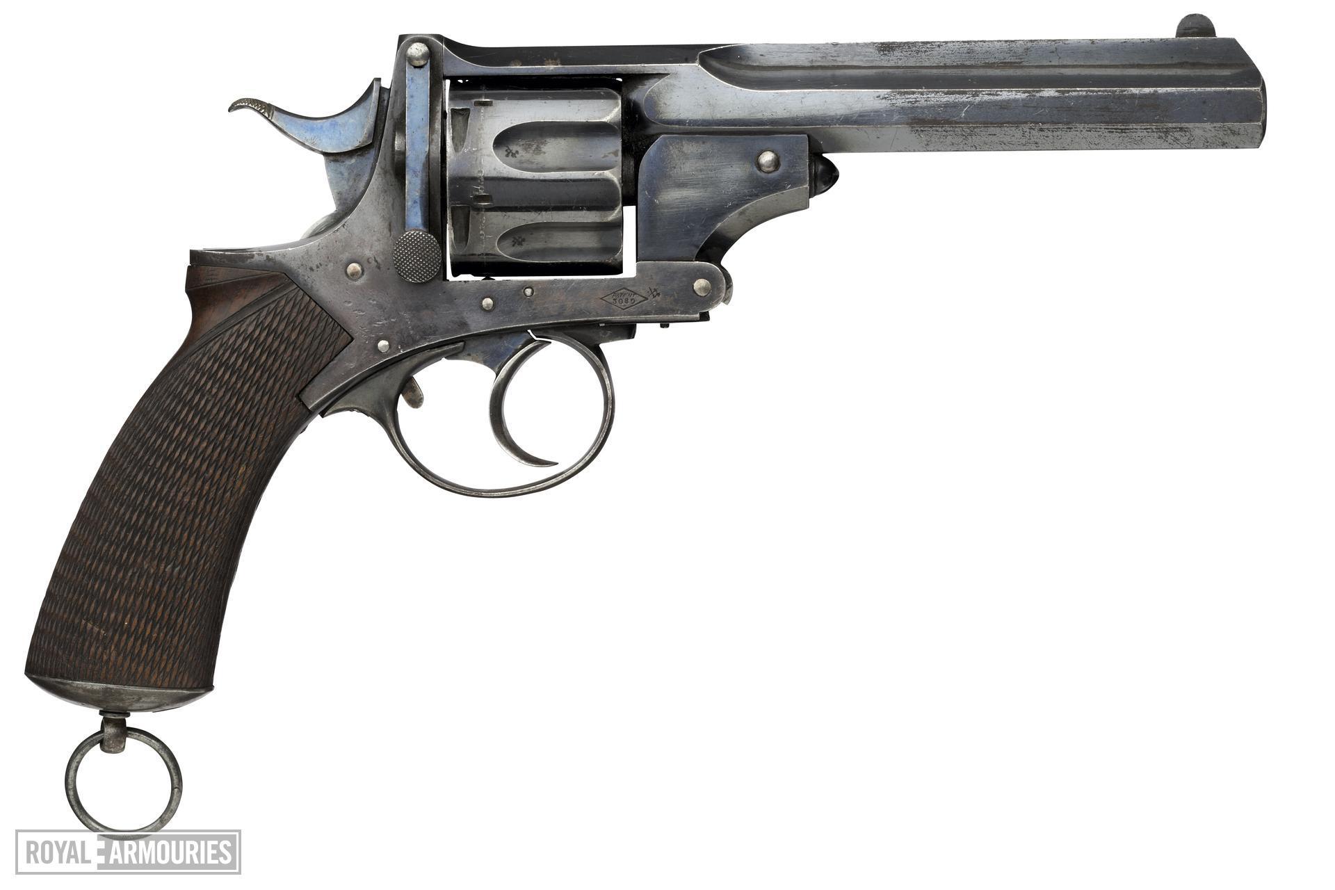 Centrefire six-shot revolver - Webley No. 4 Pryse
