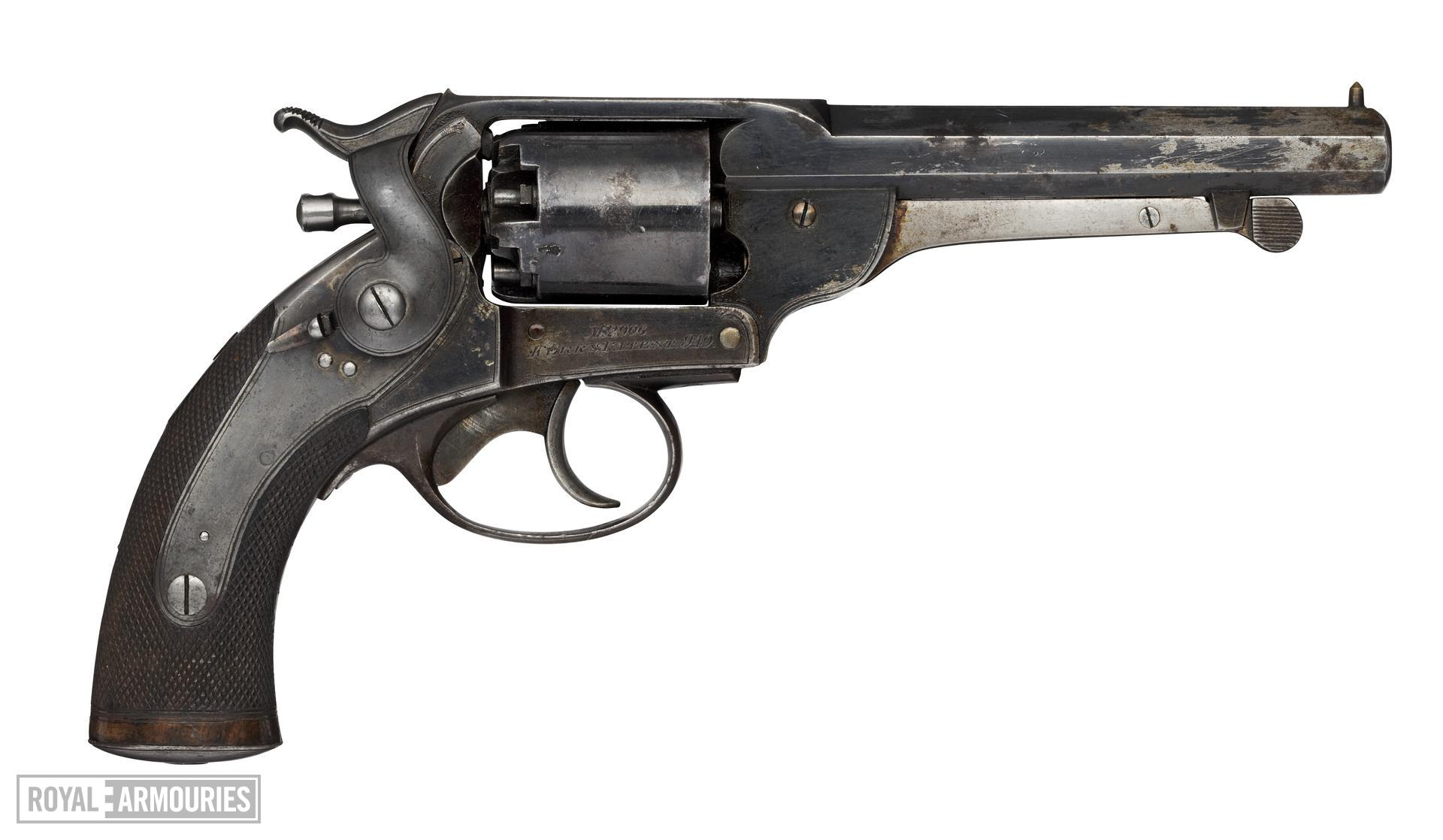 Percussion six-shot revolver - Kerr 54 Bore Model