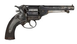 Thumbnail image of Percussion six-shot revolver - Kerr 54 Bore Model Retailed by Edward Paton. 44 George St. Perth