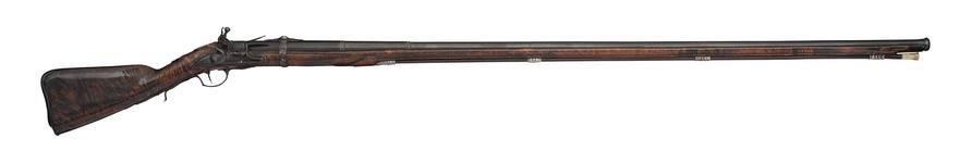 Thumbnail image of Flintlock sporting gun - By John Shaw