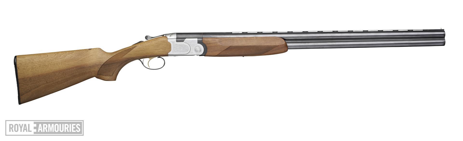 Centrefire over-and-under hammerless shotgun - Beretta Model S-686 Special
