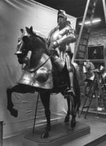 Thumbnail image of Saddle steel For a lost armour of Henry VIII