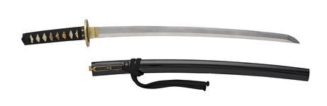 Thumbnail image of Sword (wakizashi) By Tadahiro, 2nd generation.