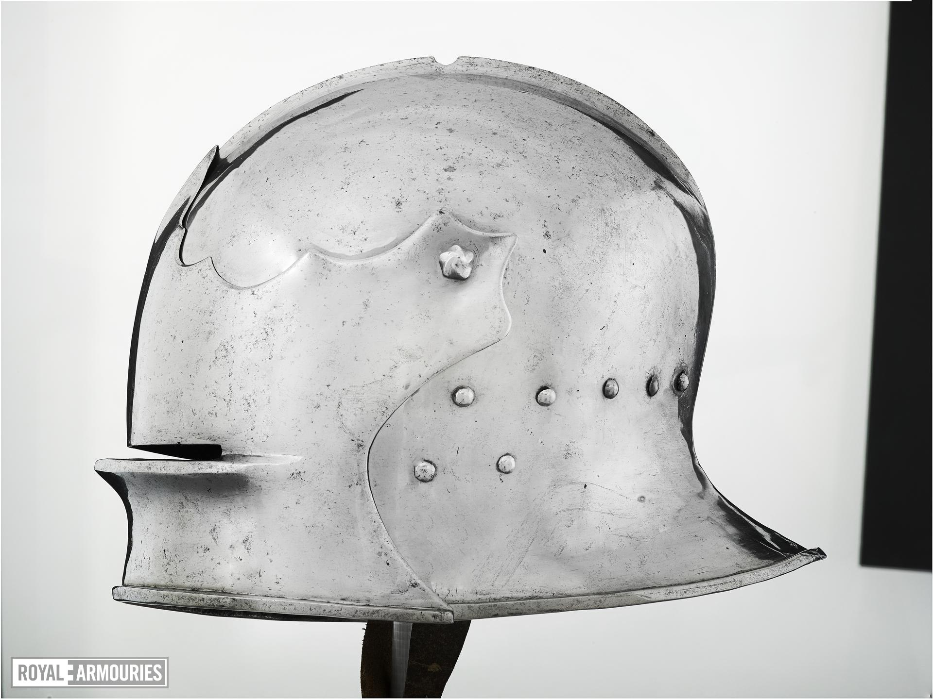 Sallet, Italian, probably Brescia, about 1460