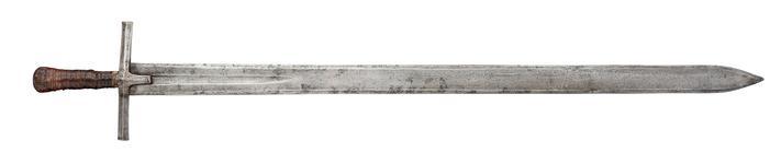 Thumbnail image of Sword (Kaskara), Sudanese, 19th century. XXVIS.210