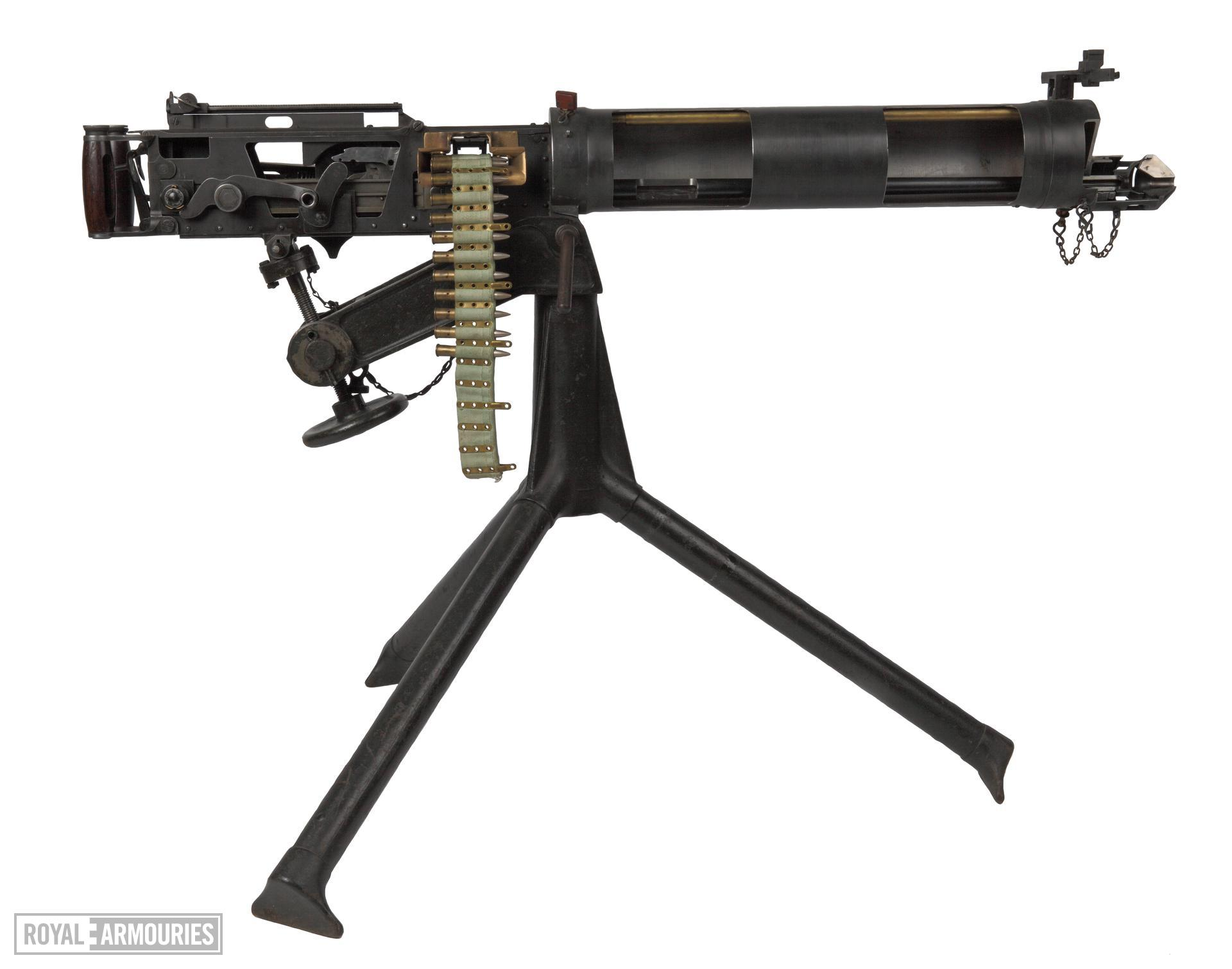 Vickers Mk.I belt-fed military machine gun, Australian, Lithgow, about 194