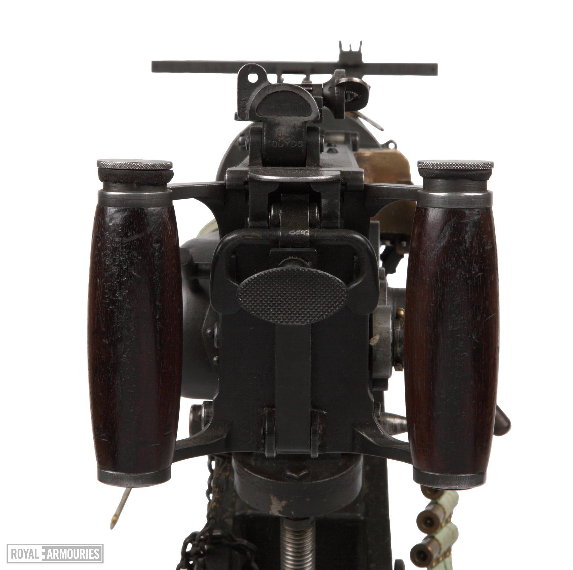 Vickers Mk.I belt-fed military machine gun, Australian, Lithgow, about 1944
