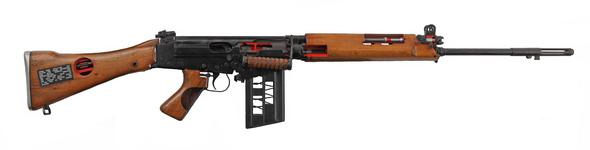 Thumbnail image of Centrefire self-loading instructional rifle - FN L23A1 Instructional model; a converted L1A1