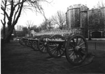 Thumbnail image of 6 pr gun and carriage Made of bronze Cast by Louis Ernest Maritz Carriage made about 1950