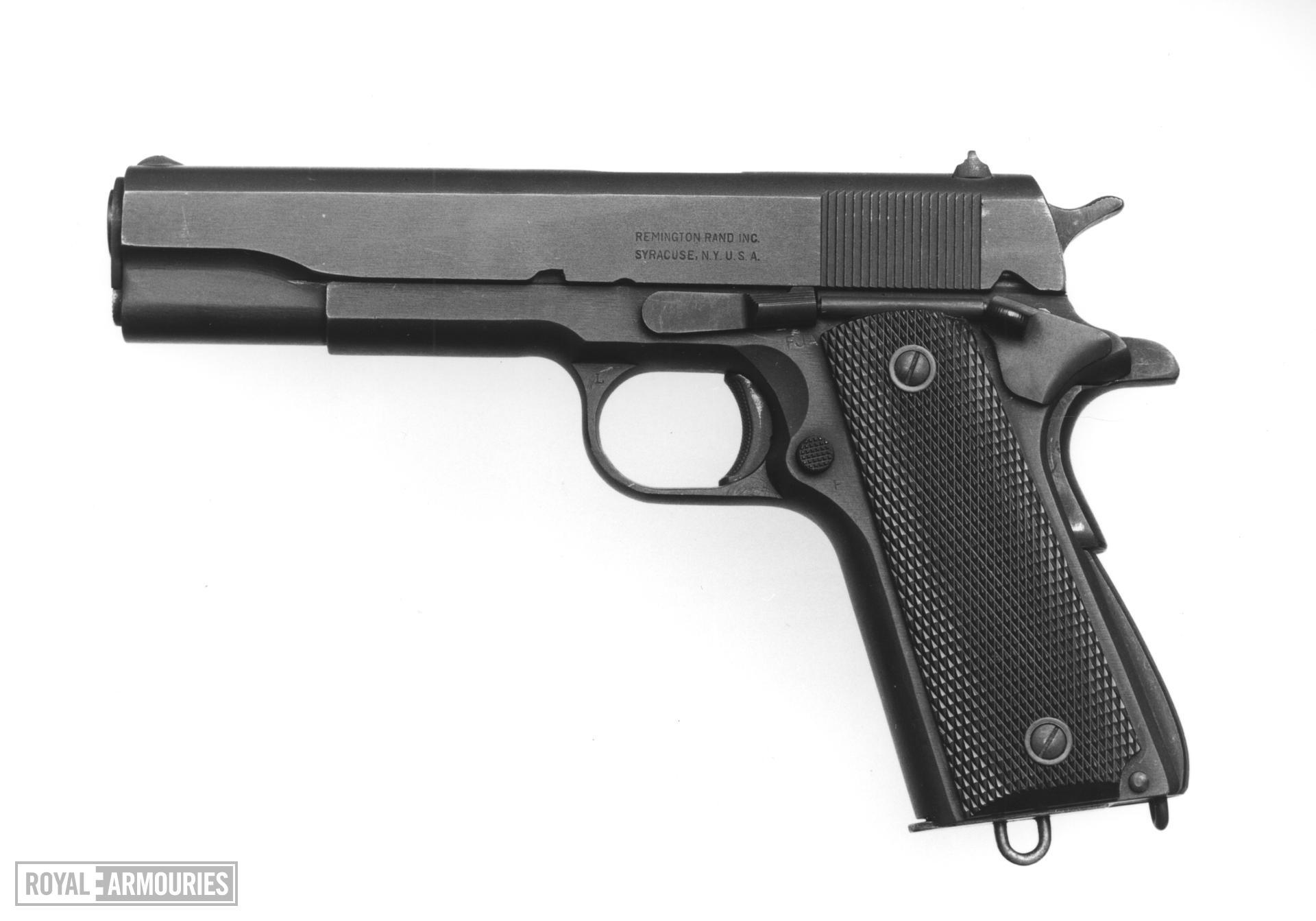 Centrefire self-loading military pistol - Colt 1911 A1
