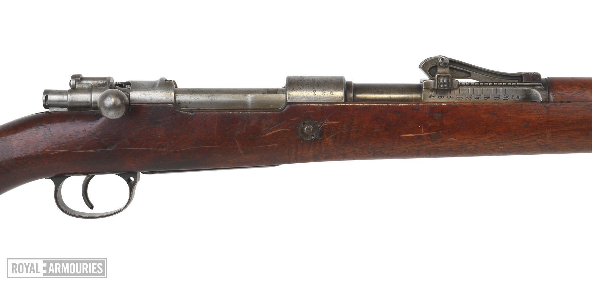 Mauser Gewehr 98 Centrefire bolt-action magazine military rifle. PR.612
