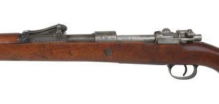 Thumbnail image of Mauser Gewehr 98 Centrefire bolt-action magazine military rifle. PR.612