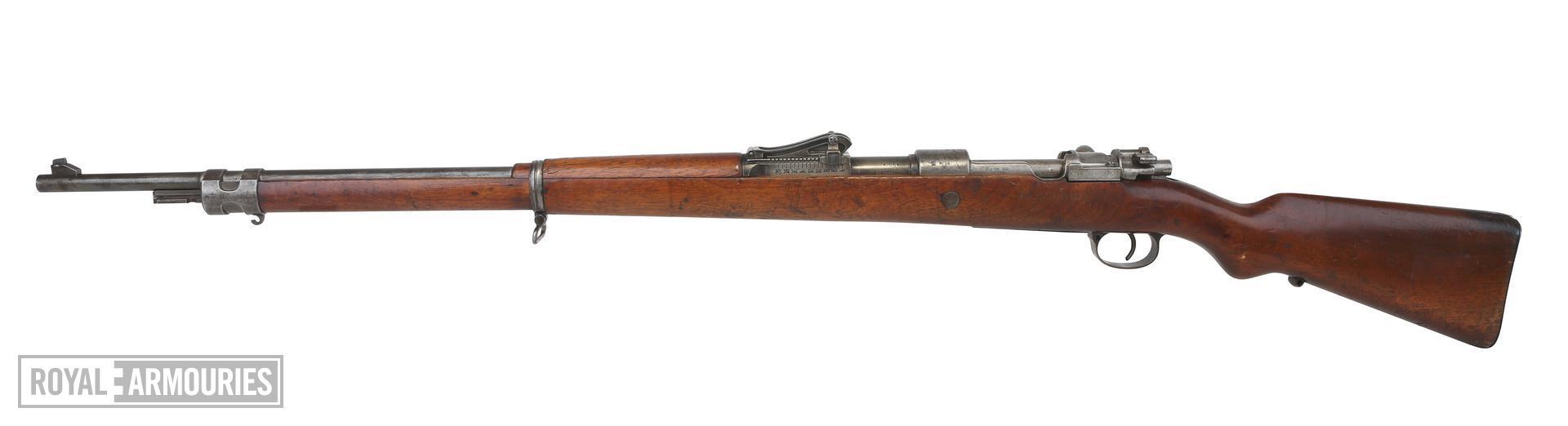Centrefire bolt-action magazine military rifle - Mauser Gewehr 98