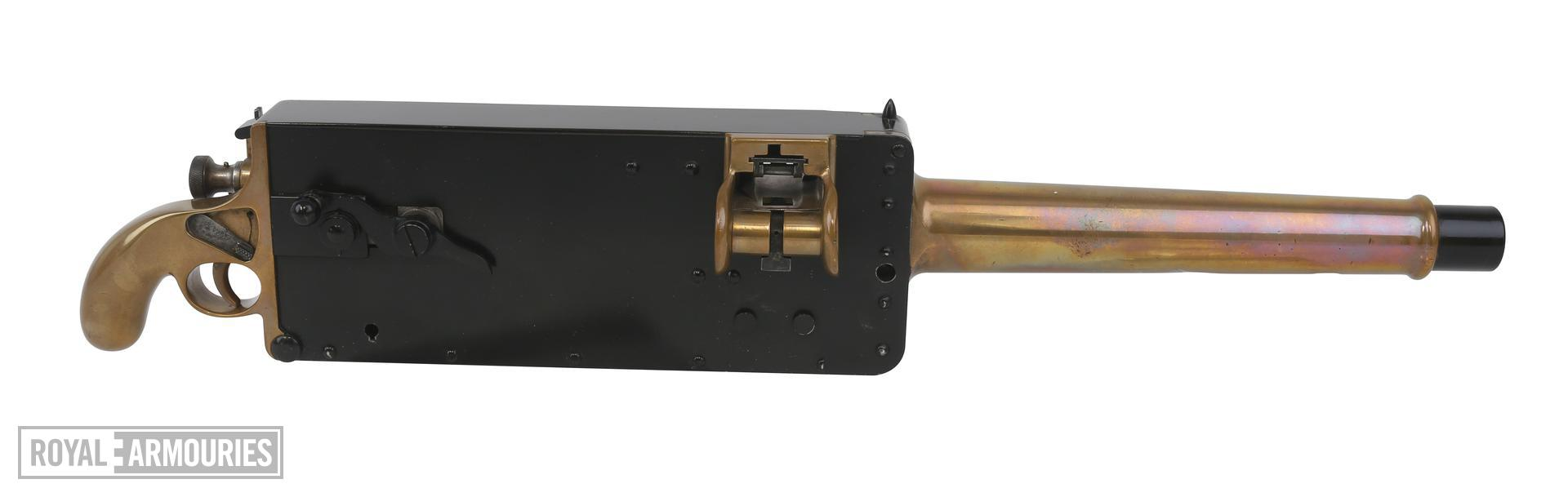 Centrefire automatic machine gun - Miniature Maxim gun