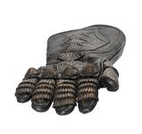 Thumbnail image of Right glove - Right glove from The Lord Marshal's Costume Part of the Lord Marshal's costume from the film the Chronicles of Riddick. Ornately decorated and highly detailed. Bronze and black in appearance but made from leather.