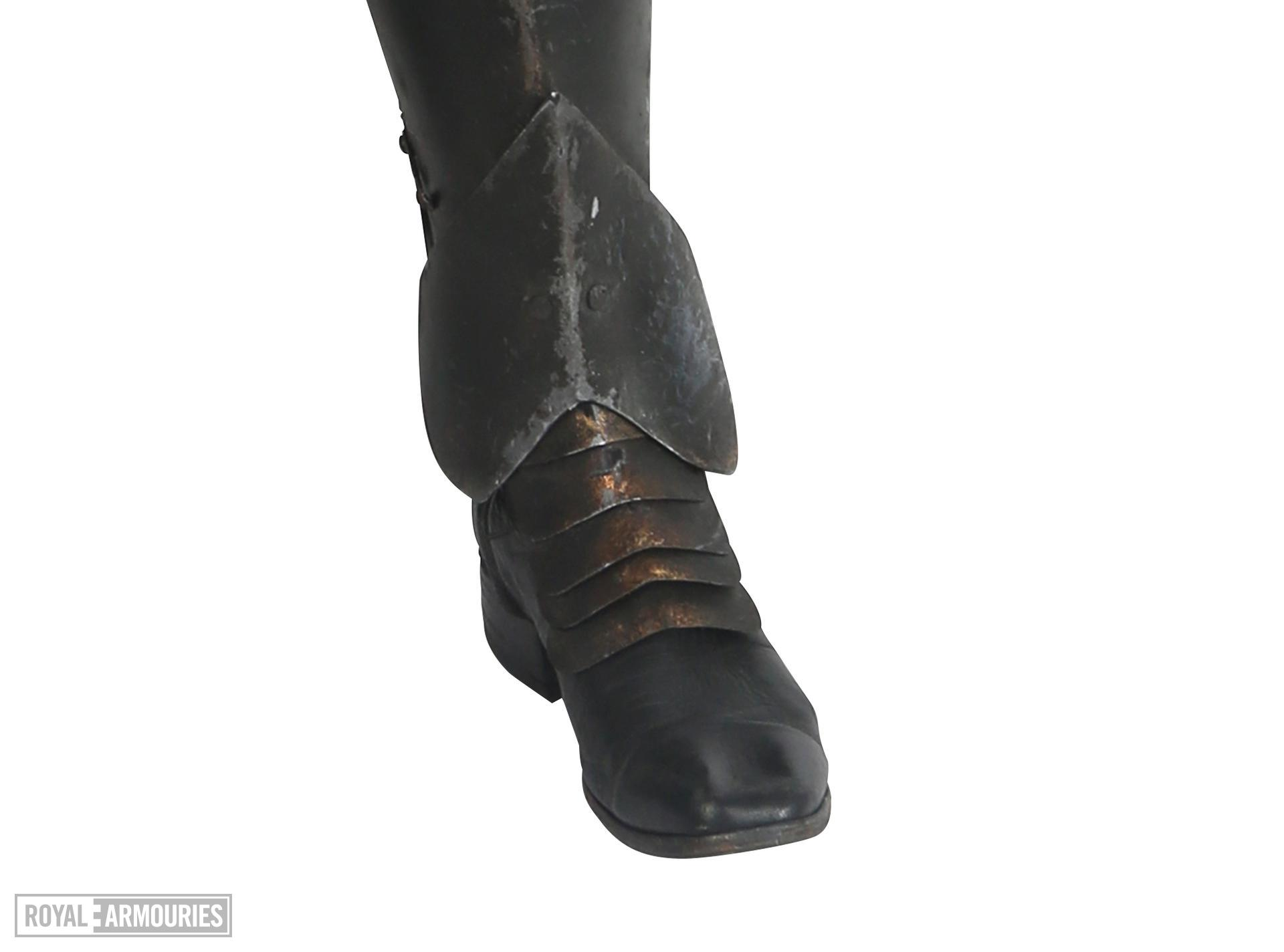 Left boot - Left boot from The Lord Marshal's Costume