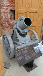 Thumbnail image of Trench mortar of the 1916 pattern (schwerer minenwerfer). By Rheinmetall.