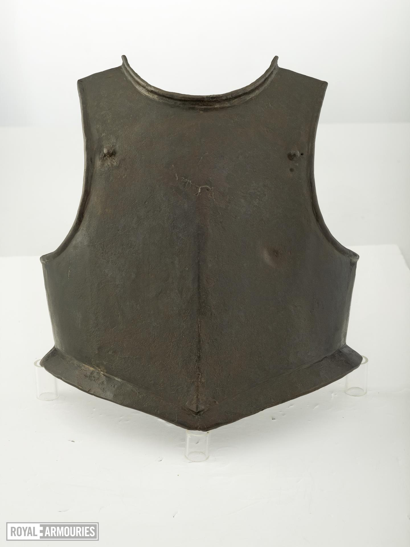 Harquebusier's breastplate Littlecote collection