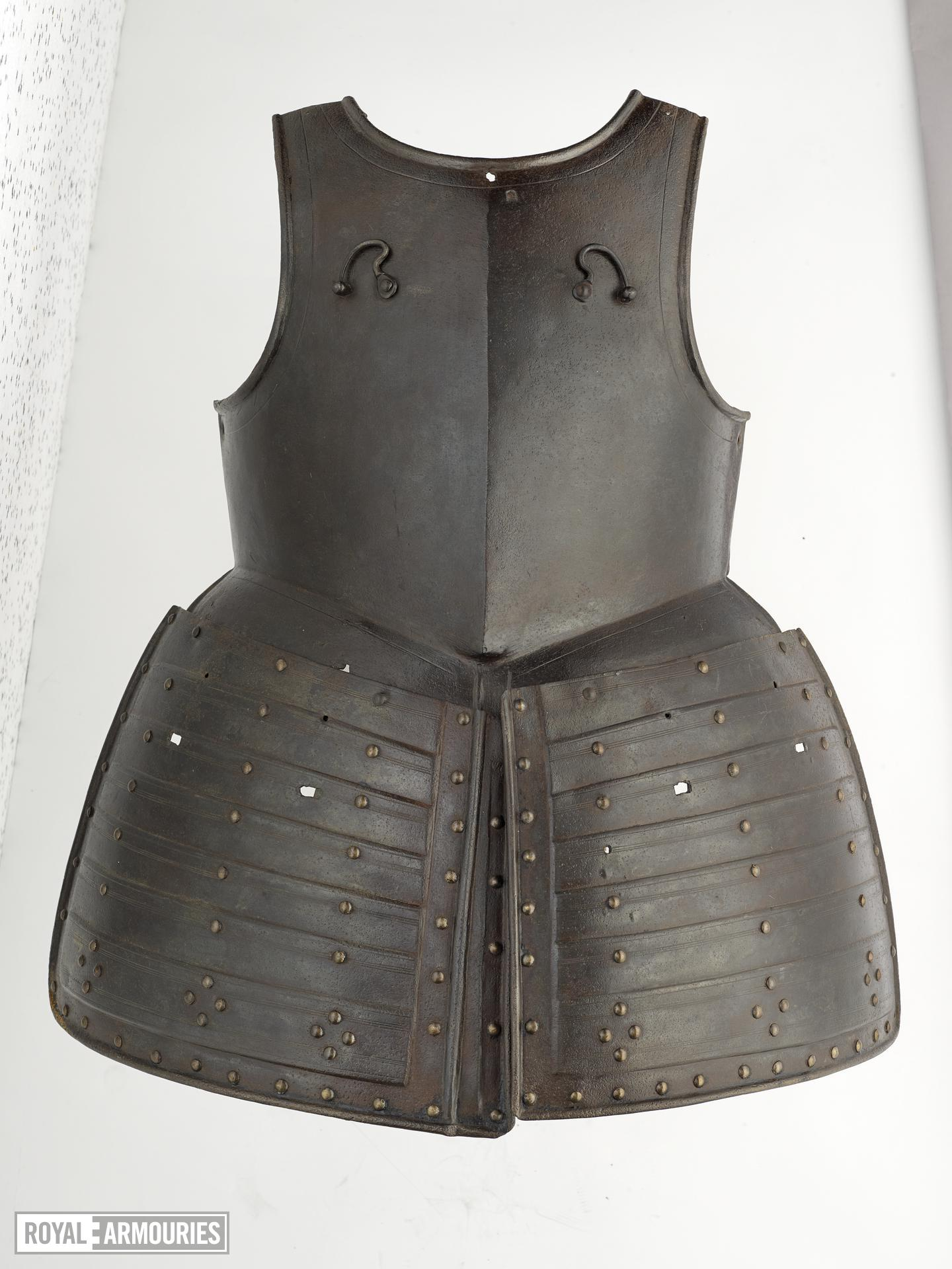 Pikeman's breastplate and tassets Littlecote collection