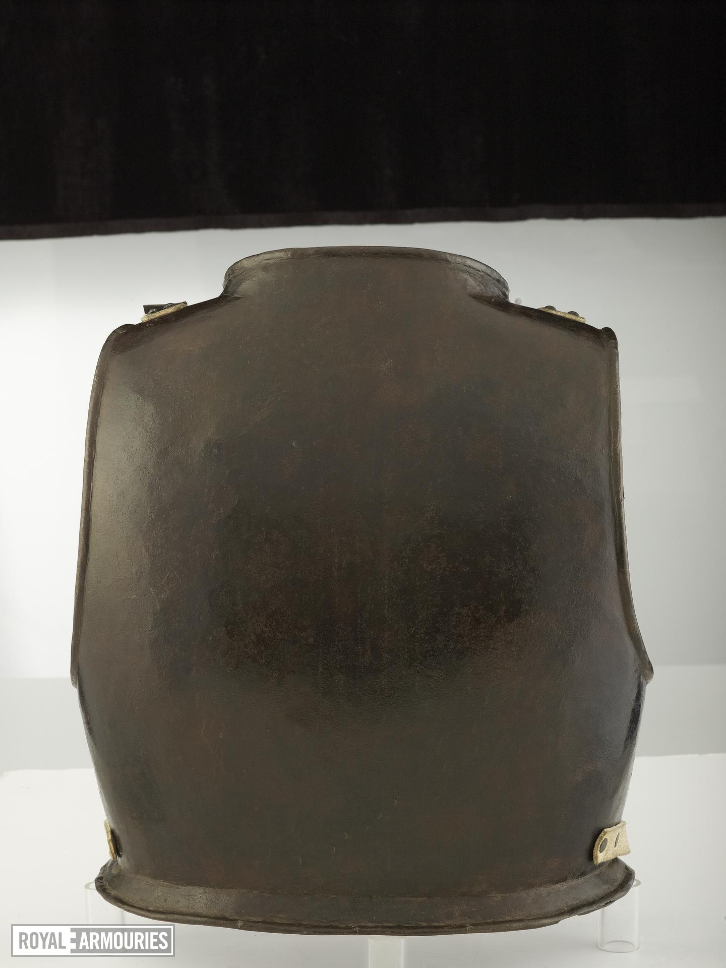 Harquebusier's backplate Littlecote collection